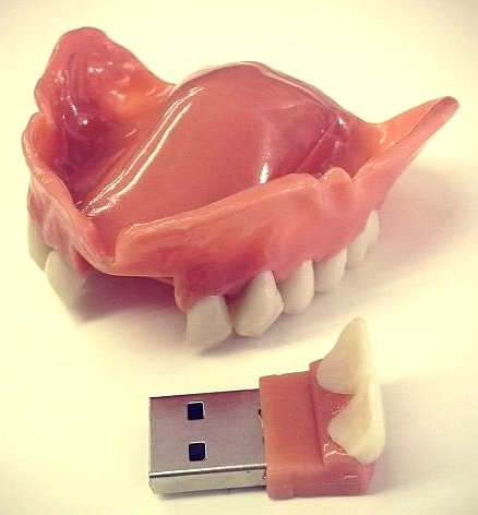Memory Stick image received by email