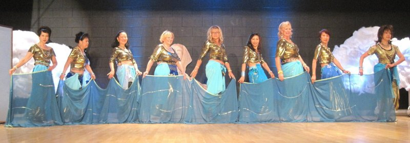 Sahara Silks dance the Ali Baba