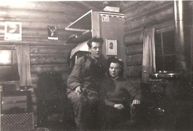 Carl Kaas and Margaret circa 1950s image from Carl Kaas Photo Gallery