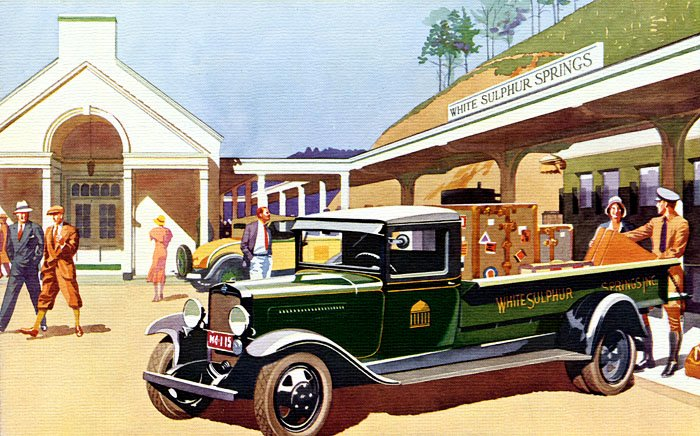 1931 Chevrolet Truck Advertisement Google image from transpressnz.blogspot.com