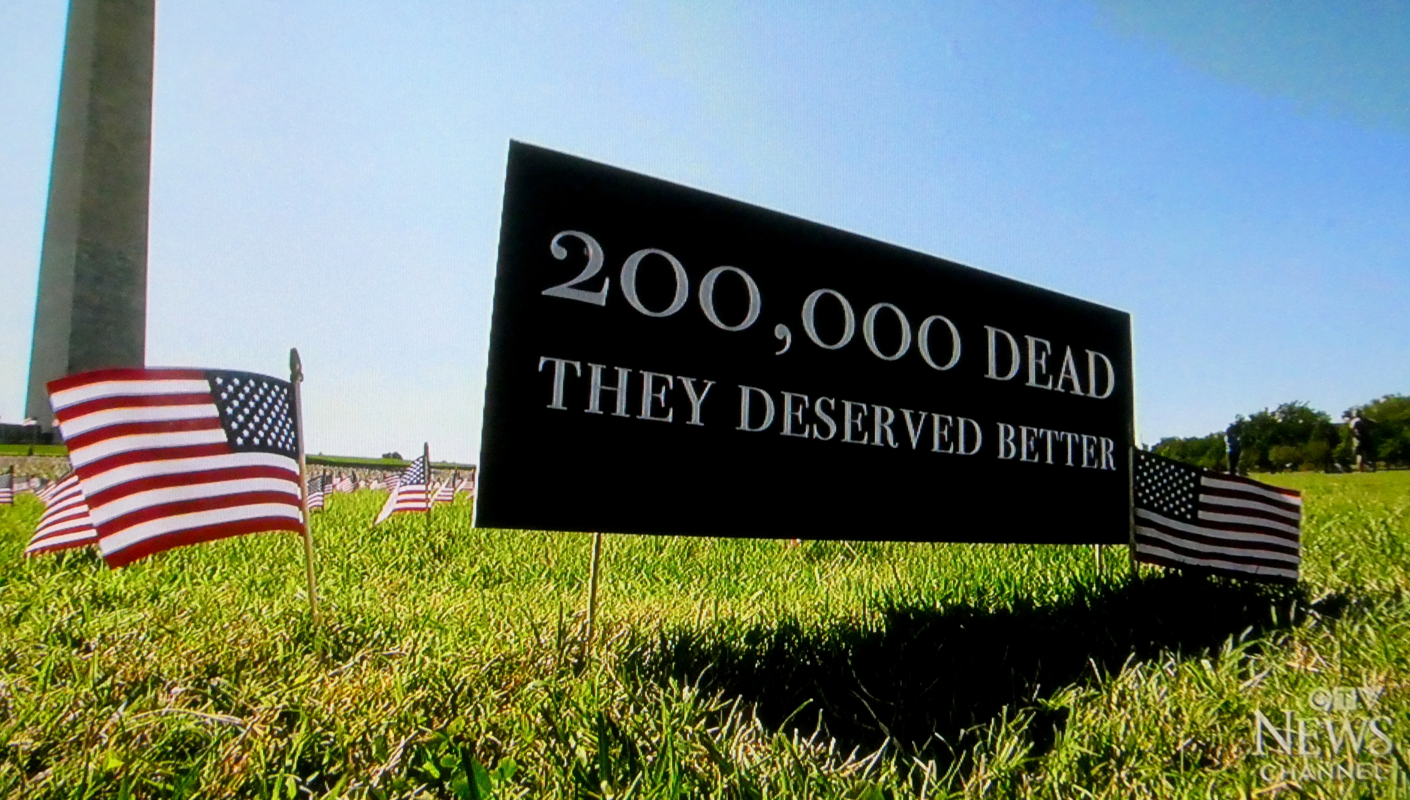 200,000 COVID-19 Deaths in the United States. They deserve better. CTV News, Sep. 22, 2020, CTV News.