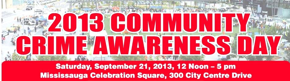 Community Crime Awareness Day image from http://www.crimeawareness.ca/event.php