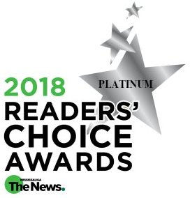 2018 Platinum Readers Choice Awards from Mississauga News