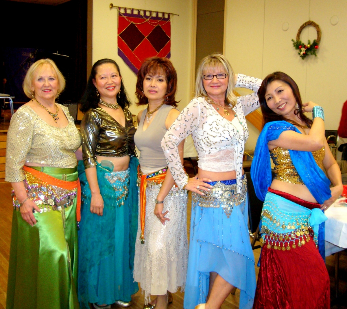 Sahara Silks Belly Dancers 1 Dec. 2011