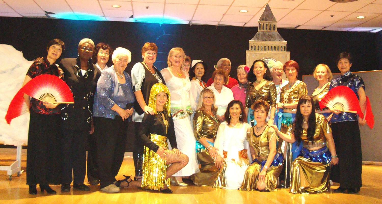 Around the World in 37 Songs, Dances, Jokes Group Photo - Older Adult Centre September 30, 2011