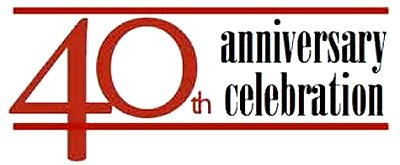 40th Anniversary Celebration Google image from http://csws.uoregon.edu/wp-content/uploads/2012/09/40th_logo_WEB-300x124.jpg