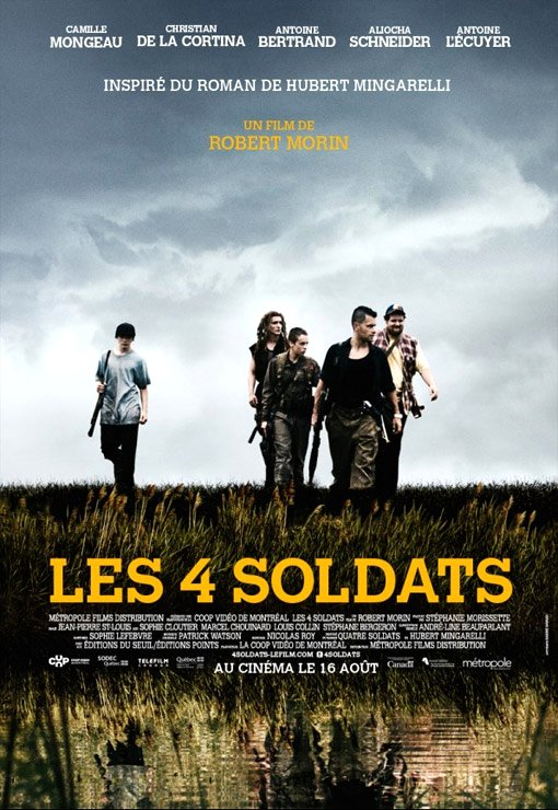 The 4 Soldiers - Les 4 Soldats Movie Poster Google image from http://www.tribute.ca/tribute_objects/images/movies/Les_4_soldats/Les4soldats.jpg