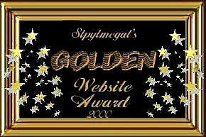 Golden Website Award 2000