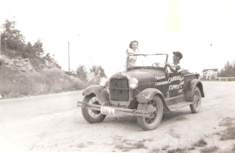 Margaret and Carl Kaas in car