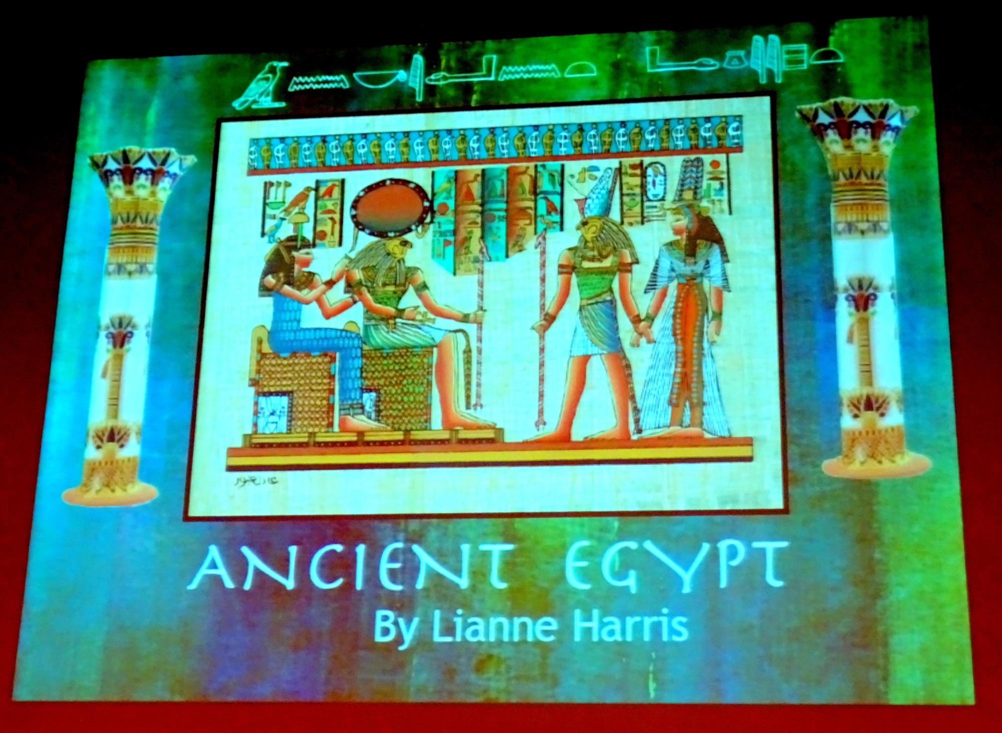 Ancient Egypt by Lianne Harris at VIVA Mississauga 24 Feb 2020