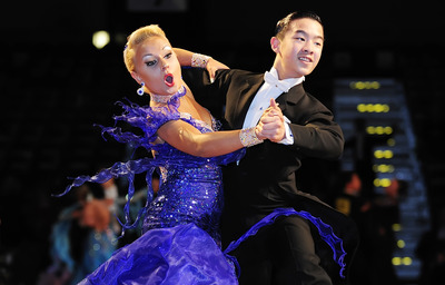 Mississauga dancer Anna-Nina Kus and her partner, Winson Tam, won the Junior Championship Standard and Youth Championship Latin divisions at the 2010 Ontario Closed Amateur Championships - image from http://www.mississauga.com/print/627564