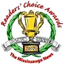 Palisades on the Glen Mississauga News Readers' Choice Award Platinum Winner 2012 image from Palisades September 2014 flyer