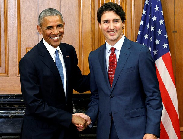 President Barack Obama with Prime Minister Justin Trudeau in Ottawa Canada 29 June 2016 Google image from http://www.macleans.ca/wp-content/uploads/2016/06/MAC28_OBAMA_OTTAWA_POST9.jpg