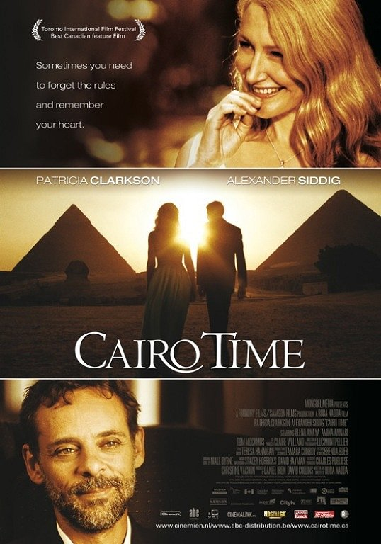 Cairo Time Google image from https://www.belbios.nl/media/posters/cairo-time_org.jpg