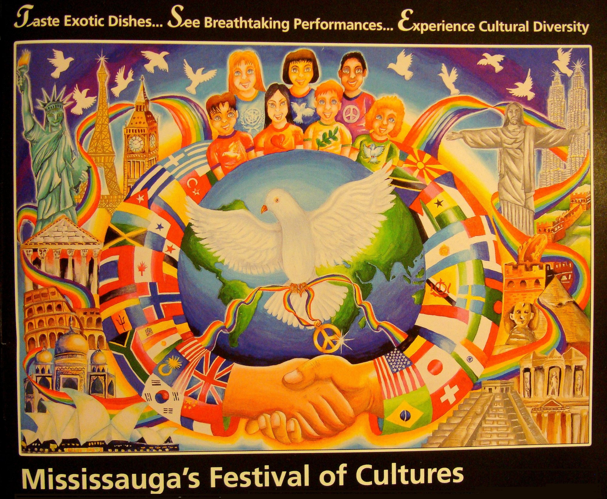 Carassauga June 3, 4, 5, 2011 image from cover of Carassauga 2011 Commemorative 26th Edition