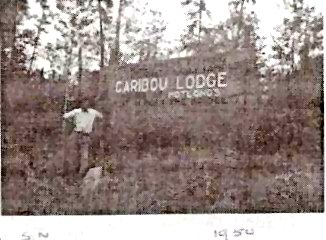 Caribou Lodge, Sioux Narrows 1950