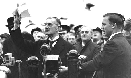 Neville Chamberlain 'Peace of Our Time' Google image from http://static.guim.co.uk/sys-images/Books/Pix/pictures/2008/08/22/chamberlain460.jpg