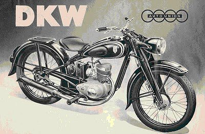 The RT 125 - DKW's Little Wonder image from http://heinkelscooter.blogspot.com/2010/04/das-kleine-wunder-story-of-remarkable.html