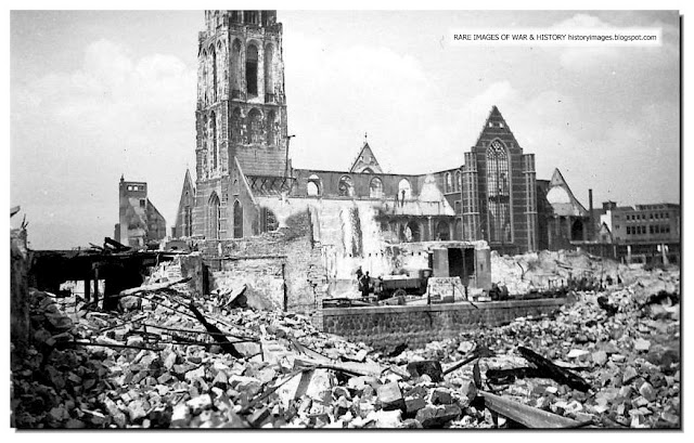Rotterdam after bombing in 1940 Google image from http://1.bp.blogspot.com/-iBNizeiSHug/Tq5V4X0wqSI/AAAAAAAAG0M/IJFj44WQQwY/s640/rotterdam-destroyed-german-bombing-may-1940-003.jpeg