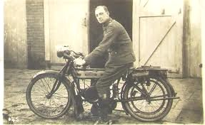 Original photograph in my collection of a Douglas 2 3/4hp 350 cc motorcycle, dated 1916. Up, down, flying around, looping the loop and defying the ground Google image from http://motorbike-search-engine.co.uk/classic_bikes/douglas-motorcycle-history.php