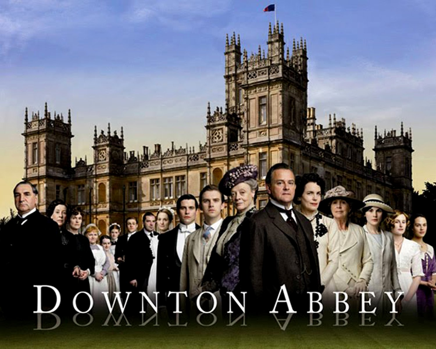 Downton Abbey 1 Google image from http://faithandheritage.com/wp-content/uploads/2013/05/DowntonAbbey1.jpg