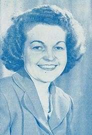 Hazel McCallion in 1950. Google image from http://media.zuza.com/5/6/569cfadf-1e6f-4786-a5e6-cb4a291ac018/Hazel_1950___Content.jpg