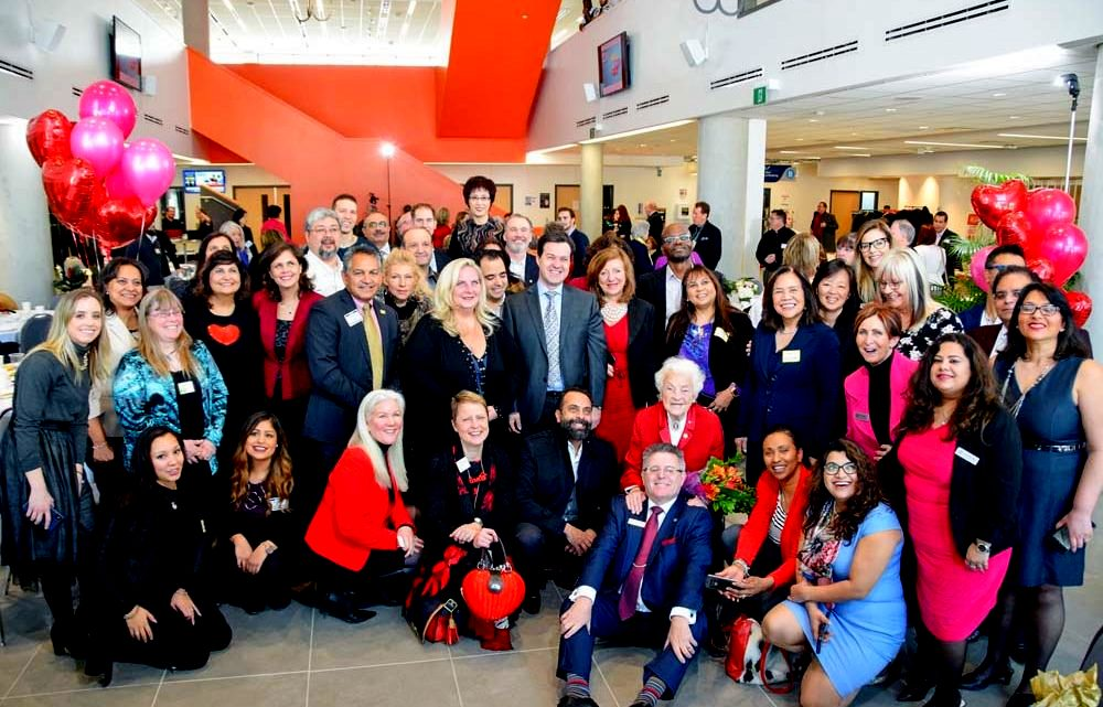 Hazel McCallion 97th Birthday Celebration at Sheridan College. Photo credits: Permalink to image of Mississauga Board of Trade MBOT Celebrates Hazel McCallion Day 14 Feb 2018.