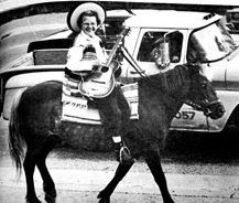 Hazel McCallion on horseback 1970 Photo from Mississauga News http://www.mississauga.com/news-story/5695984-50th-anniversary-even-in-the-beginning-and-for-a-long-time-after-that-there-was-hazel-mccallion-/