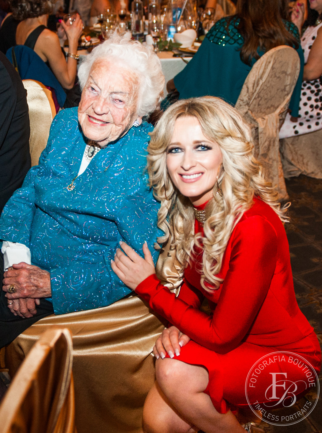 Hazel McCallion and Maggie Habieda of Fotografia Boutique at MARTYs 10 May 2018 image from Maggie Habieda Email Fotografia Boutique infoatfotografiaboutique.ca 29May2018 2:36pm