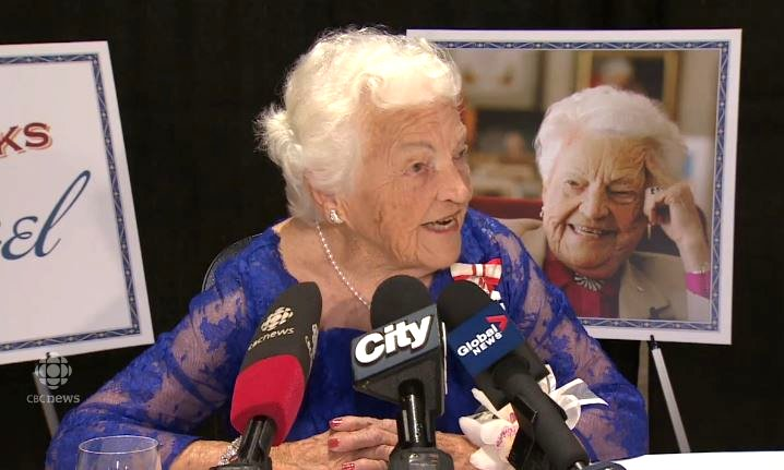 Mayor Hazel McCallion CBC News interview 27 Sep 2014