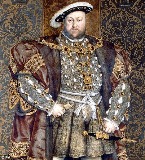 Henry VIII: The Flawed King | The Life and Legacy of Henry VIII - King Henry VIII Google image from http://i.dailymail.co.uk/i/pix/2009/03/28/article-1165449-04221E56000005DC-272_468x516.jpg