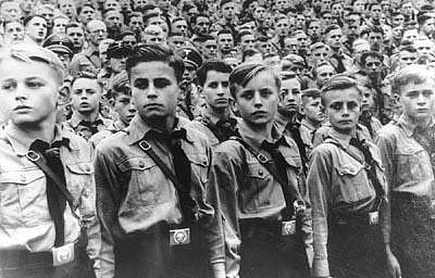 Hitler Youth Google image from http://www.antifascistencyclopedia.com/wp-content/uploads/2010/06/HitlerYouth.jpg