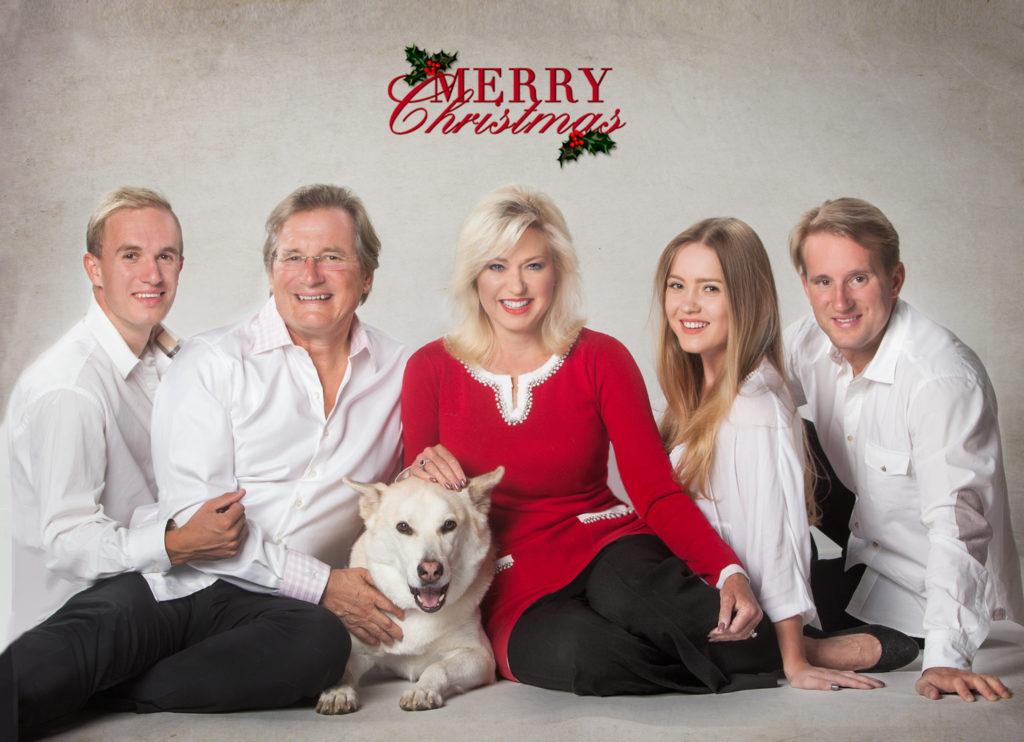 Mayor Bonnie Crombie with Family and Golden Husky Adonis image from Mayor Bonnie Crombie email: mayor@mississauga.ca 23Dec16 to sq1oac@yahoo.ca
