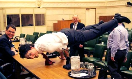 Justin Trudeau Yoga Peacock Google image from http://www.thestar.com/content/dam/thestar/news/canada/2016/04/02/trudeau-yoga-pose-stories-pose-their-own-threat-teitel/trudeau-yoga.jpg.size.xxlarge.letterbox.jpg