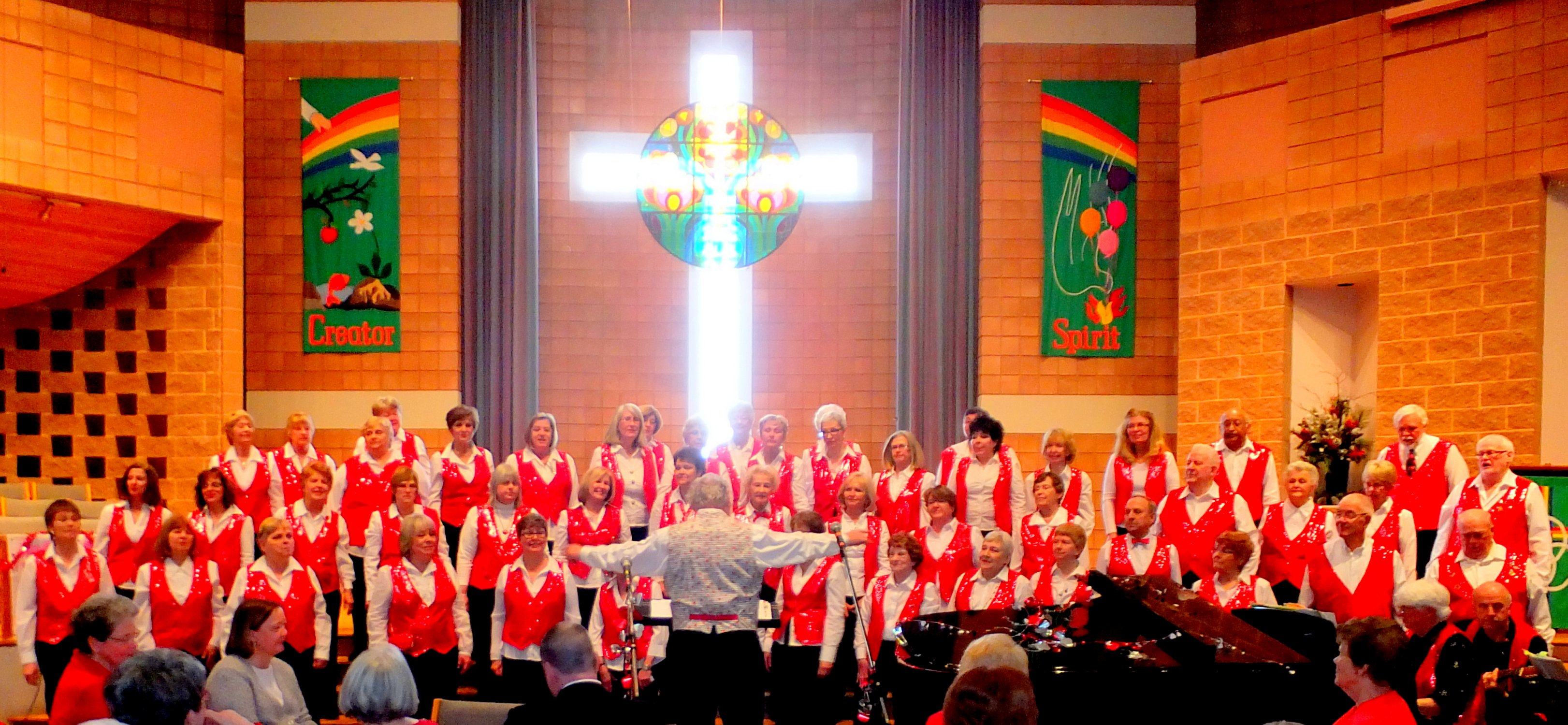 Justus Choir Streetsville Musicorp photo by I Lee, Justus Valentine's Tea at Eden United Church, 14 Feb 2015