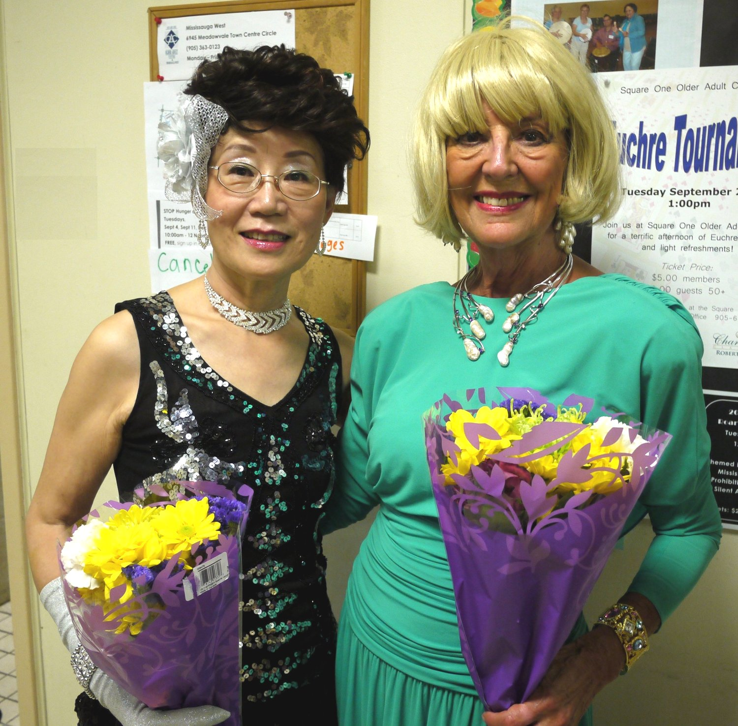 Kathy Lin and Merilyn Pitt, Performers at 20th Century: The Musical, September 2012