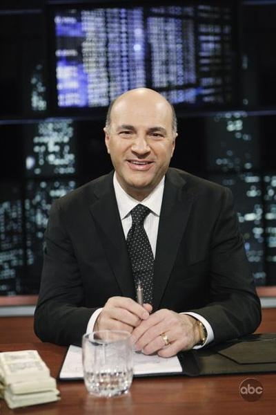 Kevin O'Leary on Shark Tank Google image from http://www.poptower.com/kevin-oleary.htm