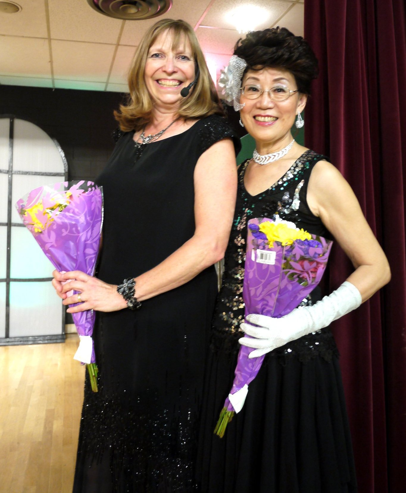 Laura Surman and Kathy Lin, Performers at 20th Century: The Musical, September 2012