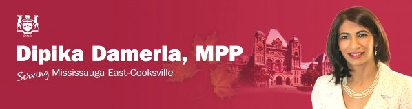 MPP Dipika Damerla image with crest from email 17May17 ddamerla.mpp.co@liberal.ola.org