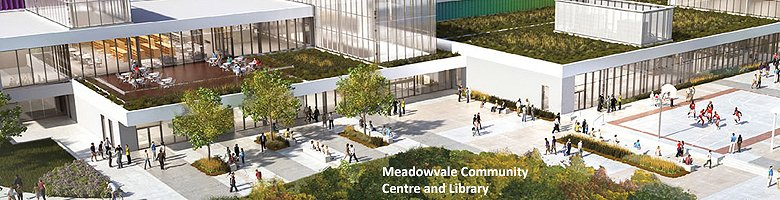 Meadowvale Community Centre and Library Google image from http://www.mississauga.ca/portal/residents/meadowvalelibrary
