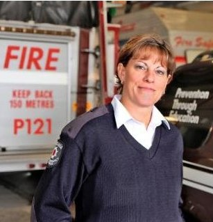 Michele Allen, Public Education Officer at Mississauga Fire & Emergency Services