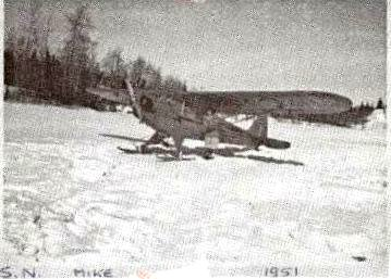 Mike Plane Sioux Narrows 1951