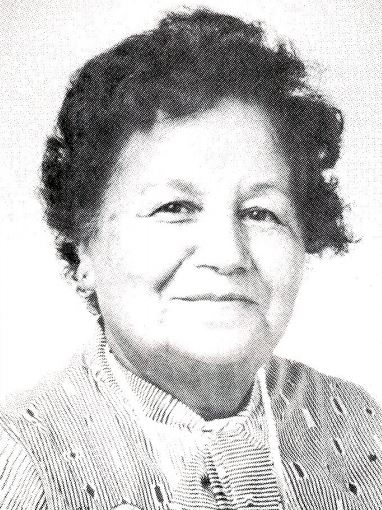 Mildred Redmond circa 11 May 1982. Photo credits: Berkeley Studio, United Church