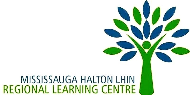Mississauga Halton LHIN logo Google image from https://www.eventbrite.ca/u/64297422283/ and http://haltonseniorsadvocacygroup.ca/mississauge-halton-lhin-popular-courses-at-the-regional-learning-centre/