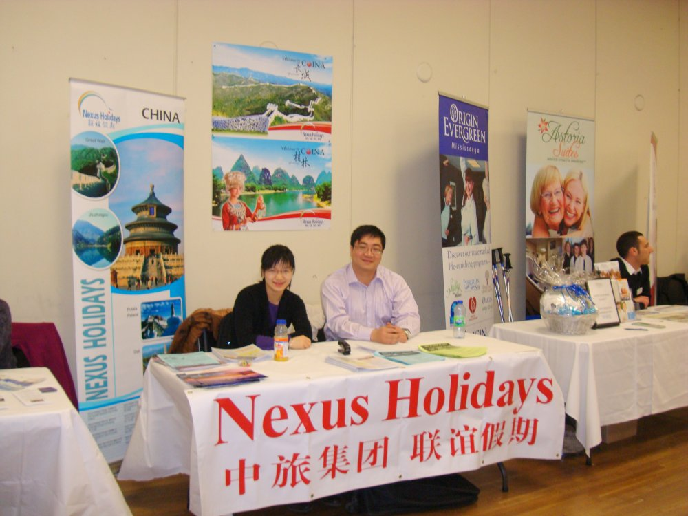 Nexus Holidays, Exhibitor at Seniors Information and Active Living Fair