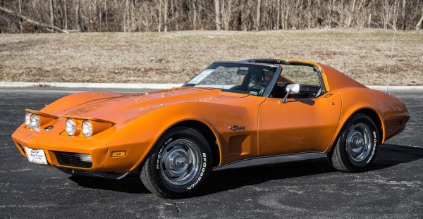 1974 Chevrolet Corvette Google image from https://fastlanecars.com/vehicles/71/1974-chevrolet-corvette