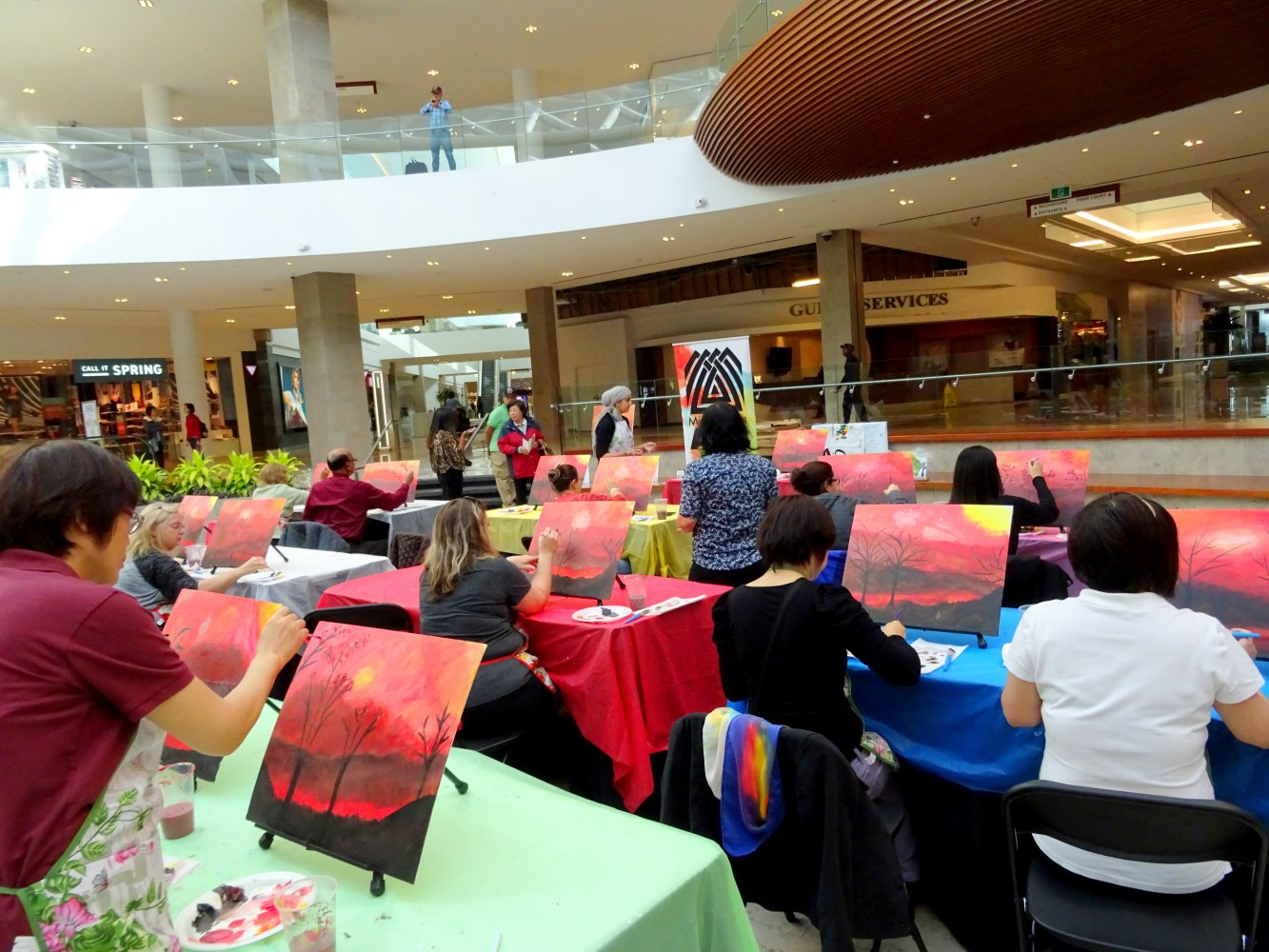Paint Your Passion Tuesdays by Mississauga Arts Council at Erin Mills Town Centre 11 October 2016