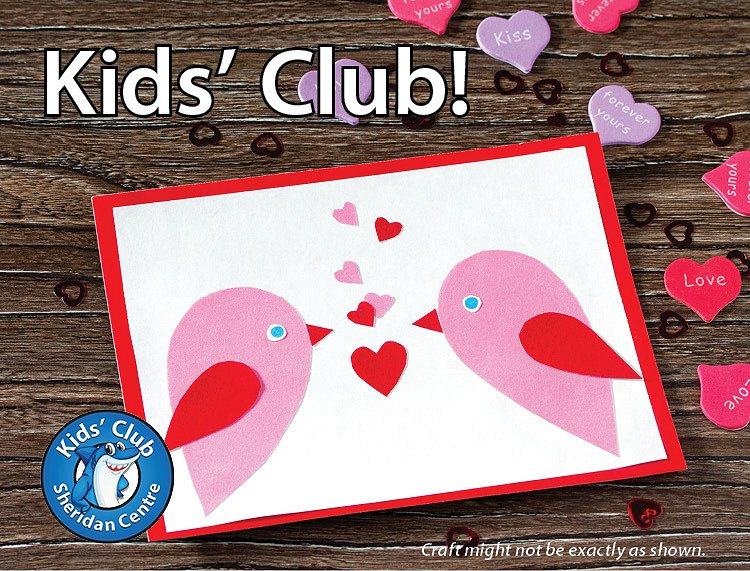 Sheridan Sharks Kids Club image from Sheridan Centre email info@sheridancentre.ca Feb. 6, 2020 5:21 pm