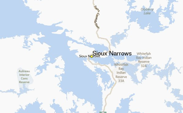 Weather Report from Sioux Narrows Google image from http://www.weather-forecast.com/weather-stations/Sioux-Narrows-weather-station-2