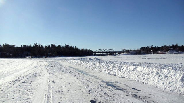 Winter in Sioux Narrows, Ontario Google image from http://www.tomahawkresort.com/images/news/27245372.21366193/winter_bridge_2.JPG
